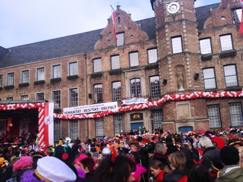 Rathausplatz Party