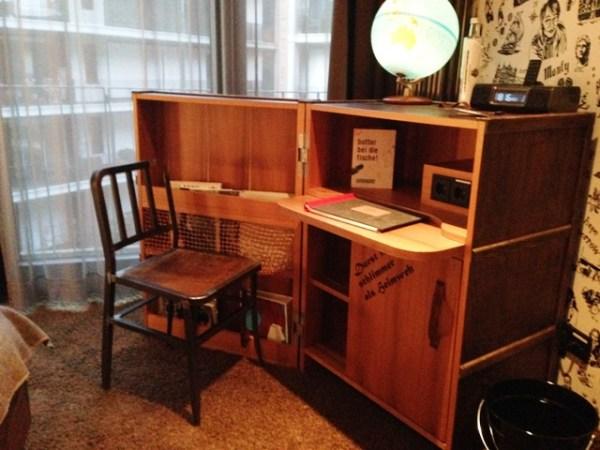 25h Hotell Schreibtisch