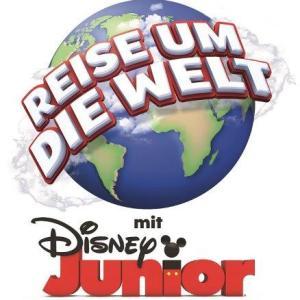 Logo Reise um die Welt mit Disney Junior