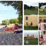 Ferientage: Zwischen Rheinstrand, Ponyhof und Regenschirm