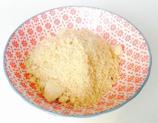 veganer Parmesan - Mandelparmesan