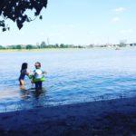 Freitagsfünf vom 22. Juli 2016 – 36 Grad, Rheinstrand und ein Spiegelei