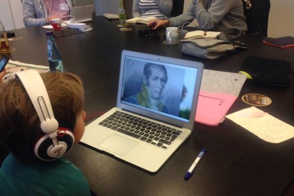 Selbstgemachte Kinderbetreuung auf dem Barcamp DUS