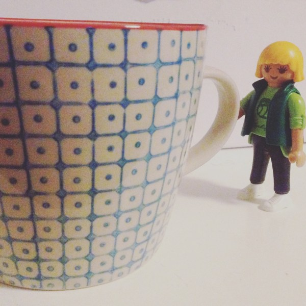 Morgens mit Kaffee