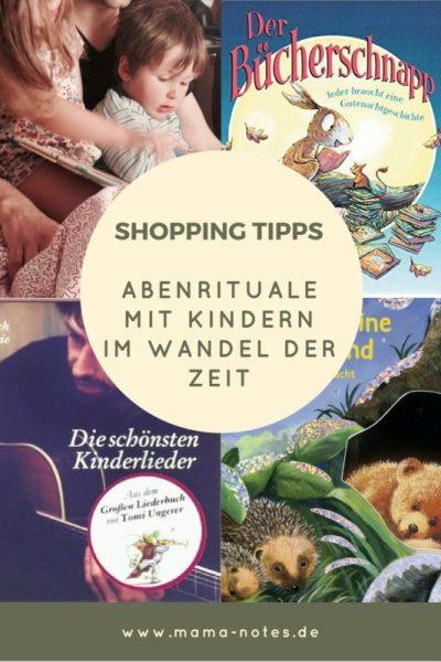 Shopping Tipps Abendrituale mit Kindern