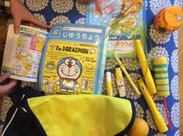黄色いものを集めた写真