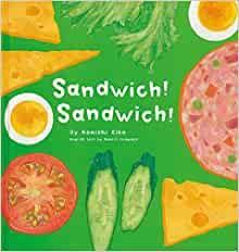 サンドイッチ作ろう絵本