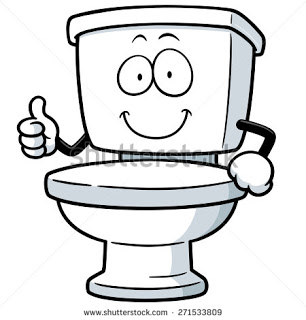 What's that in the toilet?