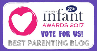I'm up for an award – and I'd LOVE your vote please!