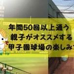 甲子園球場で子供が遊べるストラックアウト&授乳室はどんなの?