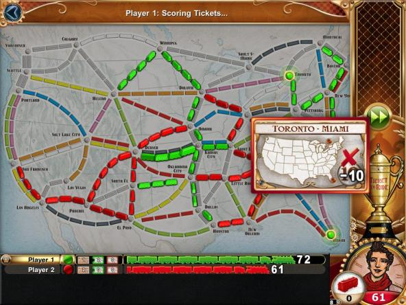 Ticket to Ride: Scoring