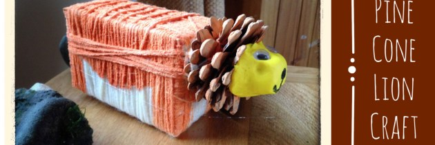Pine Cone Lion Craft