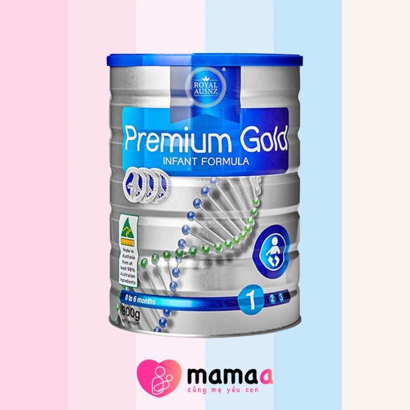 Sữa hoàng gia Úc Premium Gold Infant Formula 1 cho trẻ biếng ăn