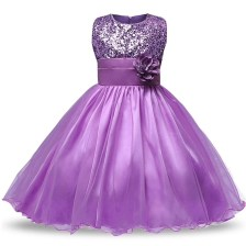 Purple Baby Dress Birthday Outfits