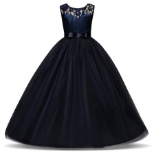 Girl Dress Blue Long