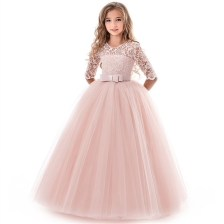 Princess Dress Pink Long