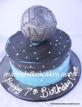 Death Star Cake