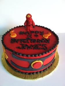 Kai Ninjago Cake