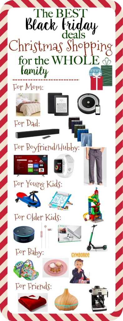 The Best Black Friday Deals | Christmas Shopping for the WHOLE Family - 2017 black friday shopping deals and tips that save money | www.mamabearbliss.com