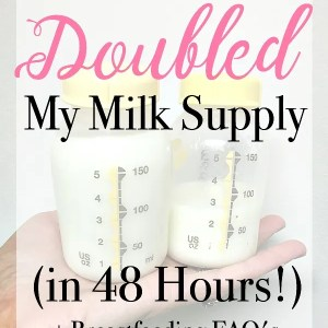 Here are some breastfeeding tips on how to increase milk supply, what power pumping is, and breastfeeding foods to boost your supply. | www.mamabearbliss.com