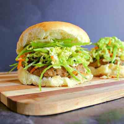 Try this epic Asian Turkey Burger Recipe for a delicious new way to enjoy burger night!
