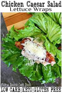 pin this chicken Caesar salad recipe for later!