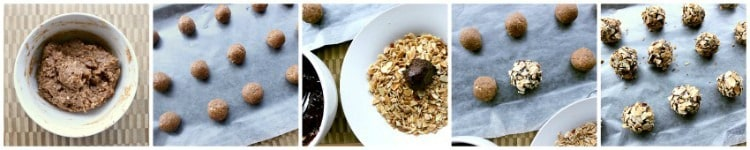 chocolate-almond-low-carb-truffles-collage