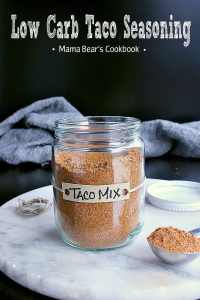 Pin this homemade low carb taco seasoning recipe for later!