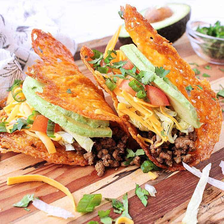 4 ways to do low carb tacos.