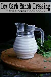 Pin this low carb ranch dressing recipe for later!