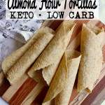 Pin this almond flour tortillas recipe for later!