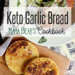 Pin this keto garlic bread recipe for later!