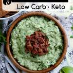 pin this keto guacamole recipe for later!