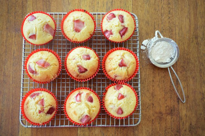 strawberry muffin5