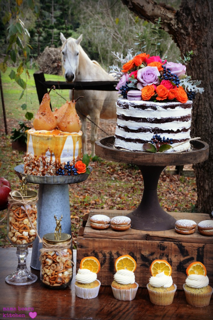 Autumn inspired Dessert Table