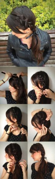 9 easy and chic hairstyle tutorials