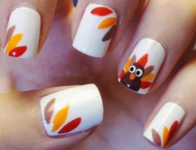 Thanksgiving Nail Colors