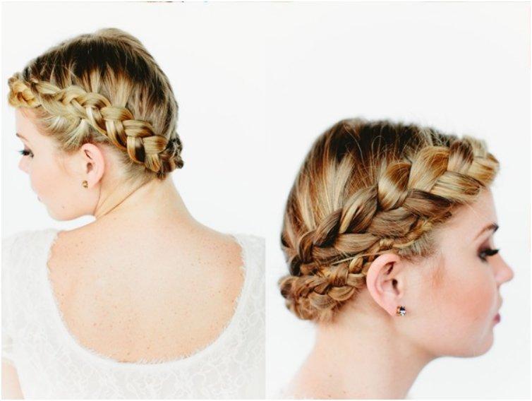 Updo French Twist Hairstyles Wedding