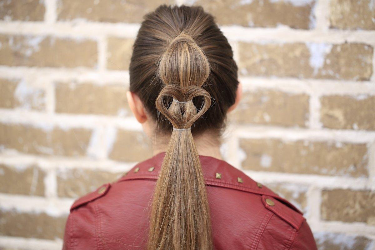 14 Adorable Heartshaped Hairstyles For Young Ladies