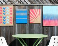 Embelish Your Empty Walls With These 25 Easy Wall Art ...
