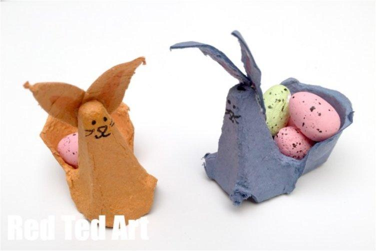 Cute 22 Egg Cartons DIYs For Easter And Around The House