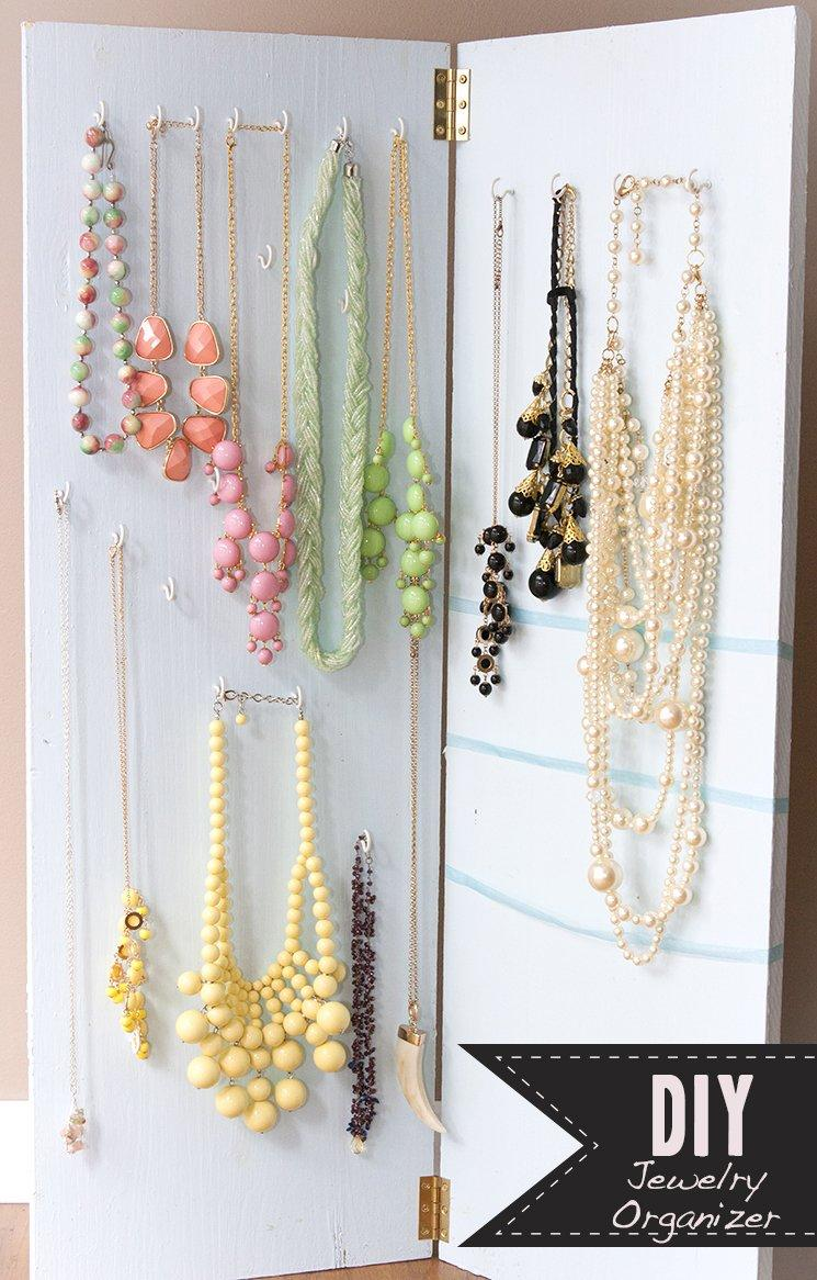 Keep Your Jewelry Organized With These Lovely 20 DIY