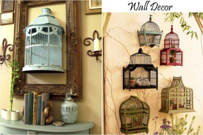 Put Some Moss Flower Petals And Candles Into A Bird Cage It 39 D