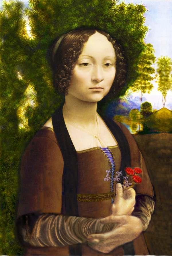 Leonardo Da Vinci Ginevra De' Benci