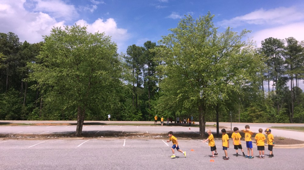 Scout Olympics Sprint