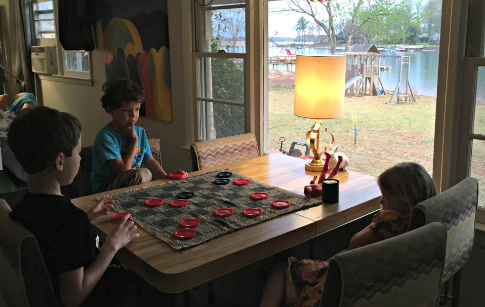 Checkers in Tiny House