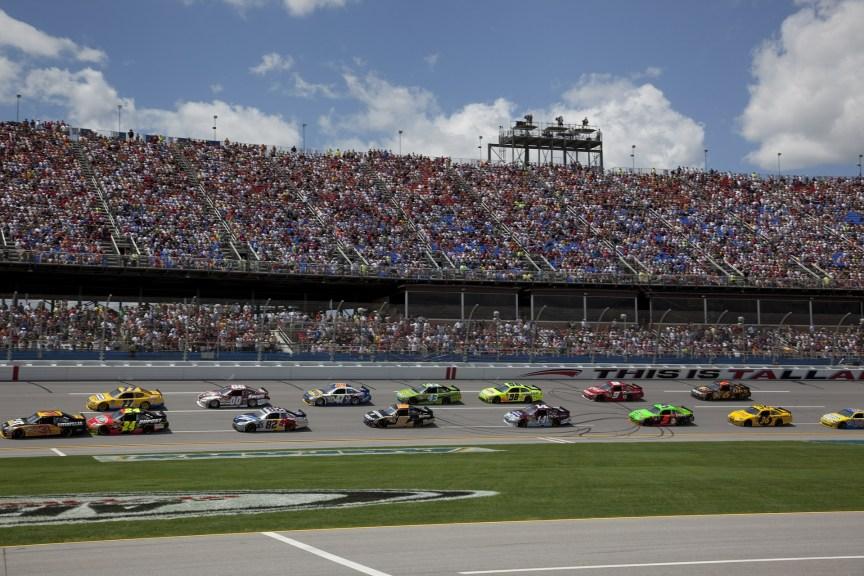 NASCAR race - raffle