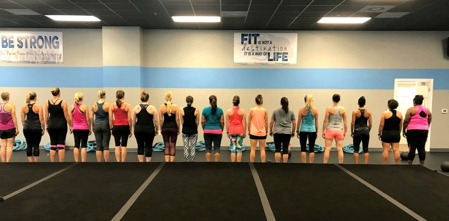 The Women of Burn Boot Camp