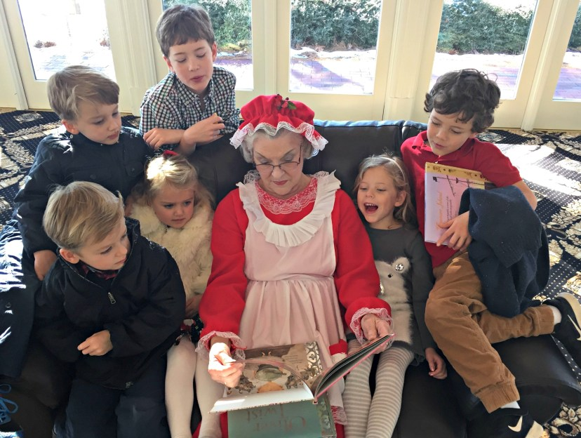 Reading with Mrs. Claus