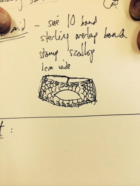 Shrek's ring design, take one